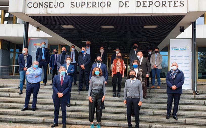 """PRESENTACIÓ DE LA PLATAFORMA """"ESPAÑA DEPORTE"""""""