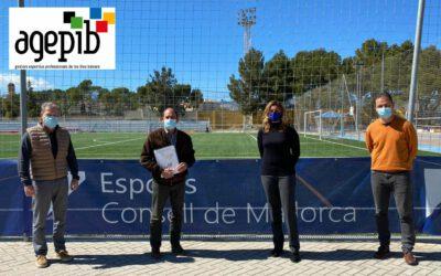 La nova directiva de l'AGEPIB es reuneix amb el Consell de Mallorca