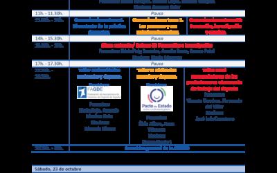 Del 21 al 23 de octubre de 2021 – XVI Congreso Internacional de la Asociación Española de Investigación Social Aplicada al Deporte (AEISAD)