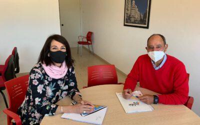 Visita i reunió al Consell Insular de Formentera