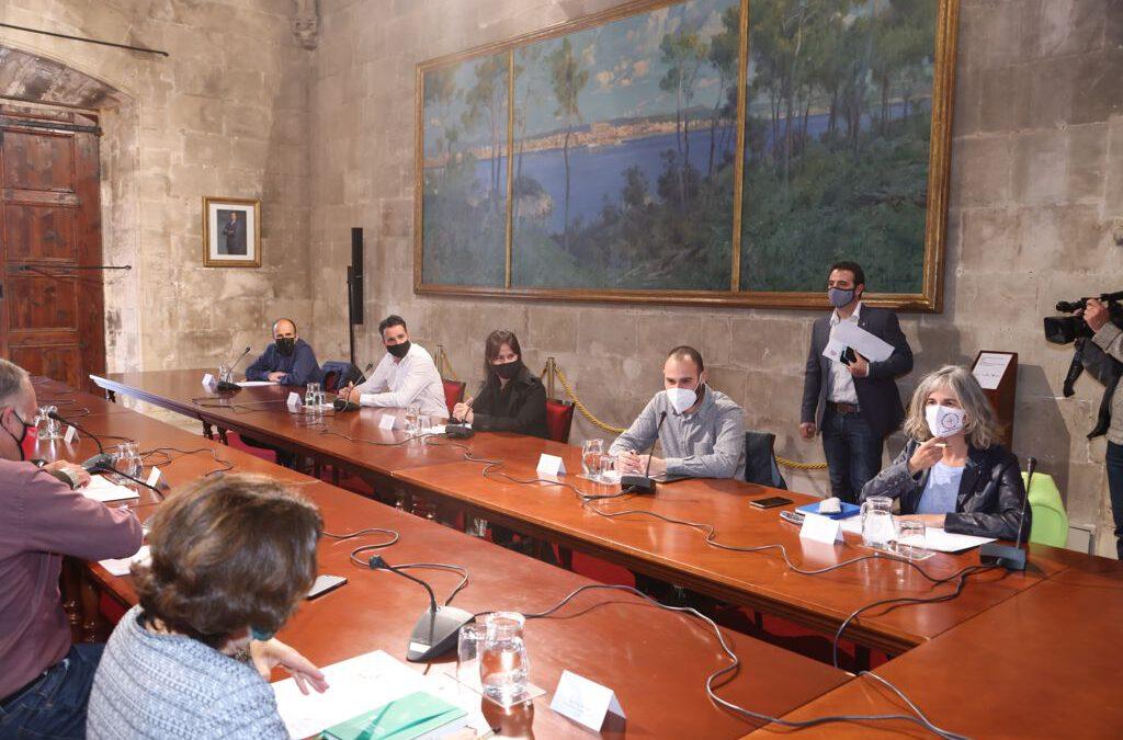 Reunió amb Francina Armengol, presidenta del Govern de les Illes Balears