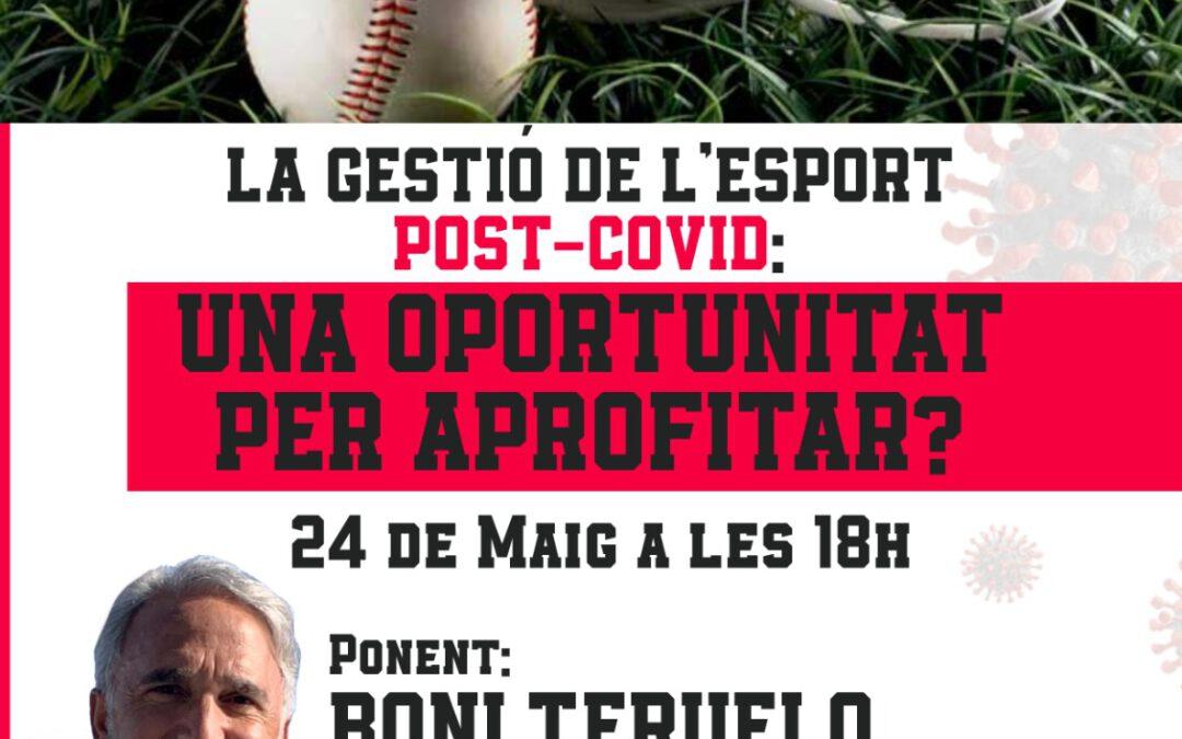 LA GESTIÓ DE L'ESPORT POST COVID